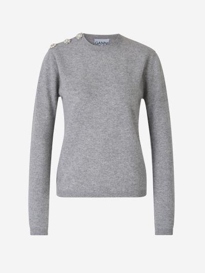 Strass Buttons Sweater