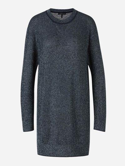Metallic Thread Knit Dress