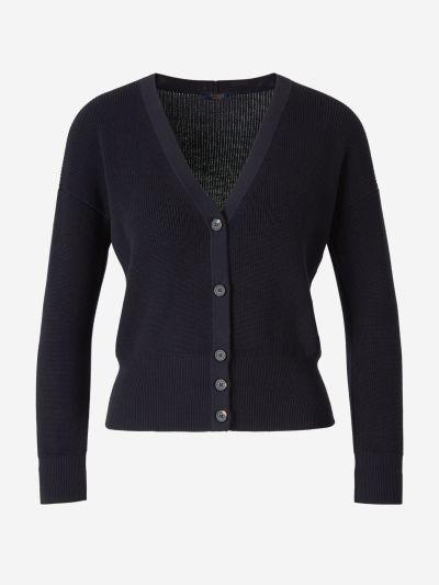 Cotton Knit Cardigan