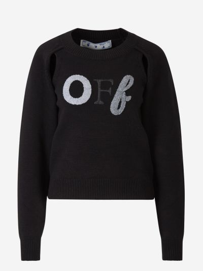 Openings Embroidered Sweater
