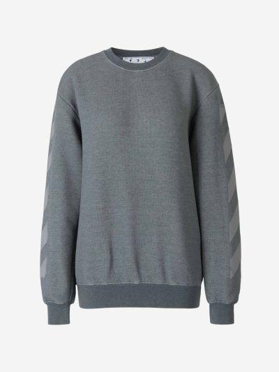 Cotton Logo Sweater