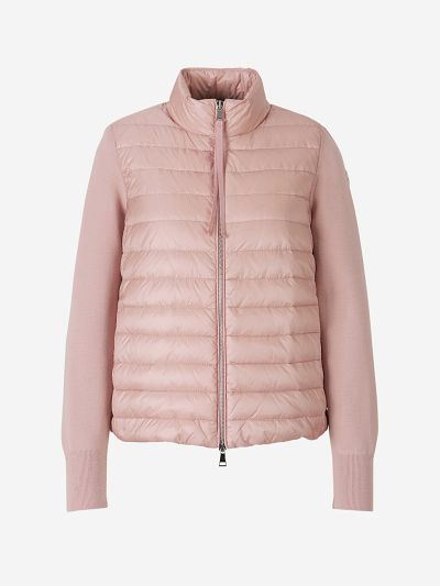 Combined Quilted Jacket