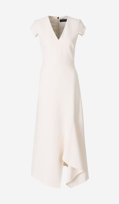 Kinglake Crepe Long Dress