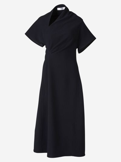Asymmetric Neck Dress