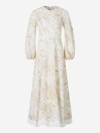 Amelie Embroidered Dress