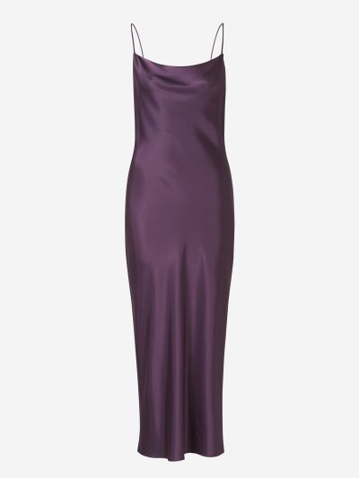 Pauline Cowl Neck Dress