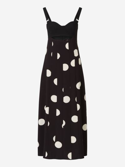 Polka Dot Bustier Dress