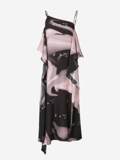 Liquid Melt Waves Dress