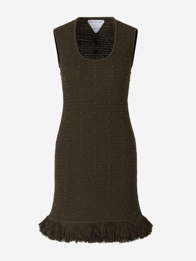 Crochet Pompom Dress