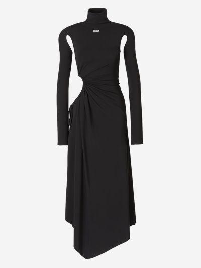 Cut-out Details Maxi Dress