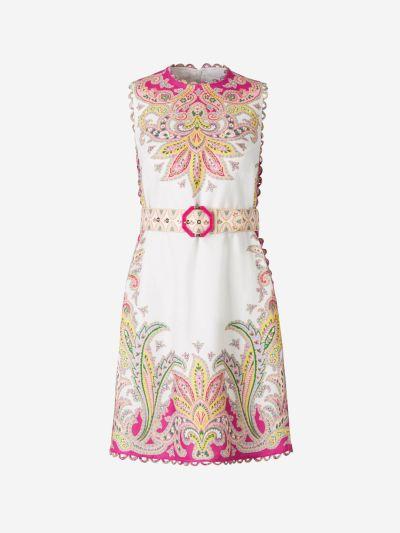 Vestido Motivo Paisley