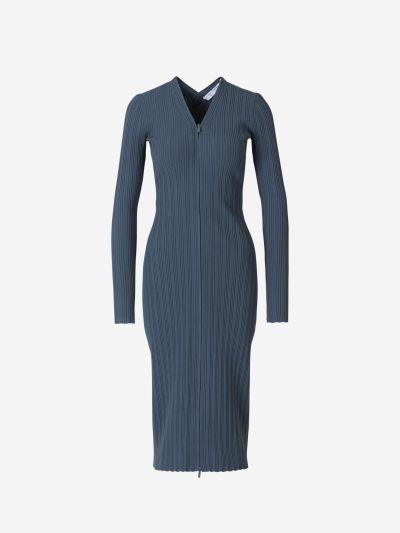 Ribbed Maxi Dress