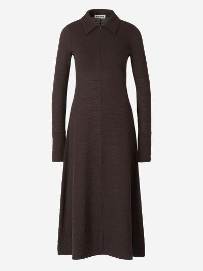 Textured Wool Dress