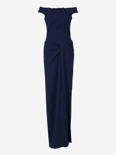 Deauville draped dress