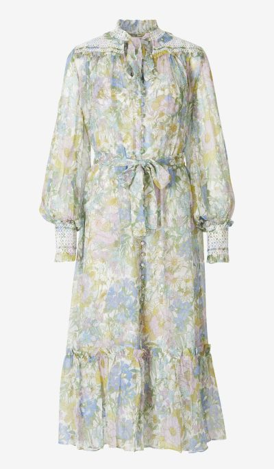Vestit Llarg Blue Meadow