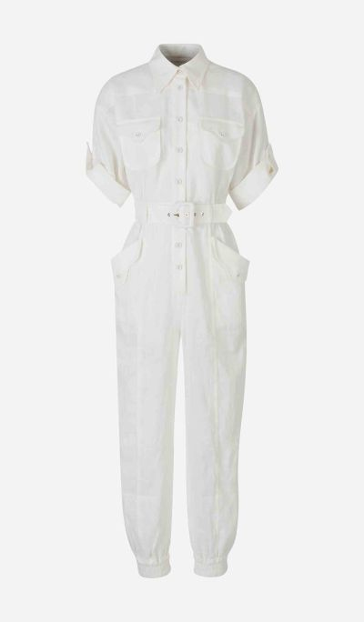 Super Eight Linen Jumpsuit