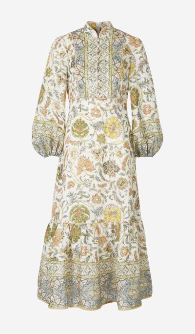 Vestido Largo Motivo Paisley