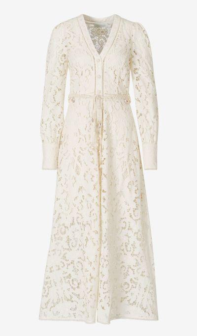 Freja Broderie Dress
