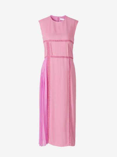 Lace Trims Dress
