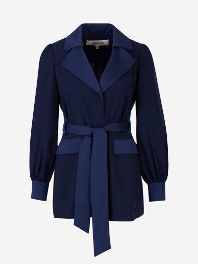 Stassie crepe jacket