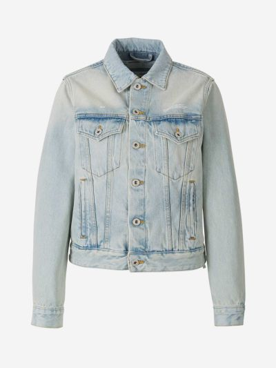 JKT Bleach Denim Jacket