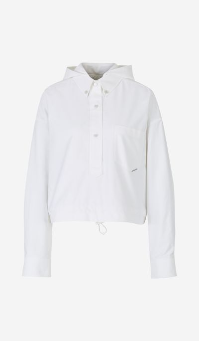 Camisa Oxford Capucha