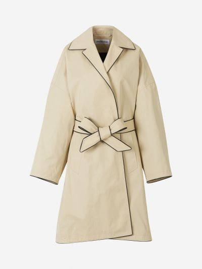 Oversized Trench Coat with Belt