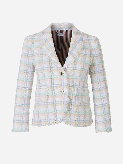 Seasonal Checked Blazer