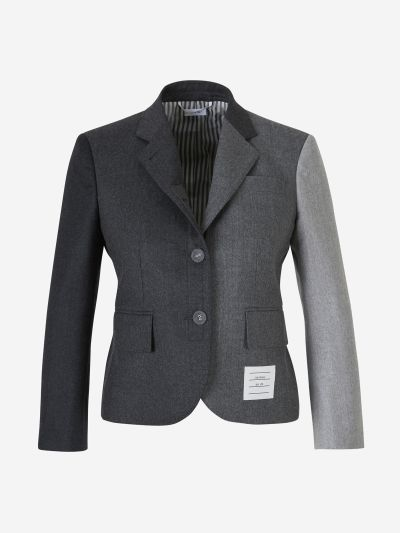 Short Wool Blazer