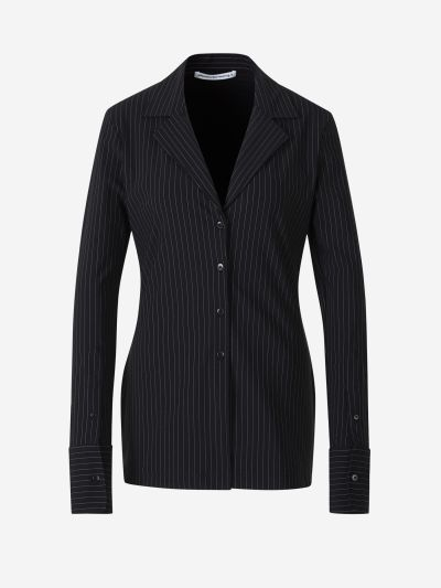 Diplomatic Stripe Lightweight Blazer