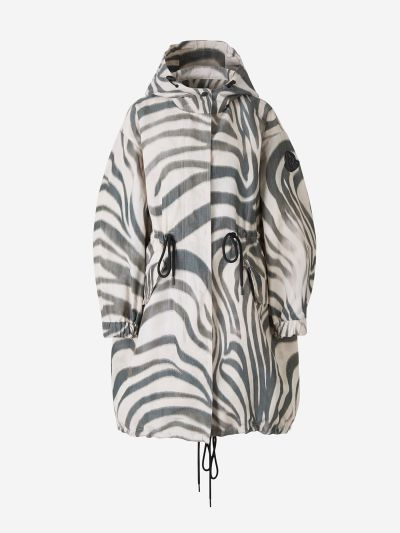 Achird Zebra Print Parka