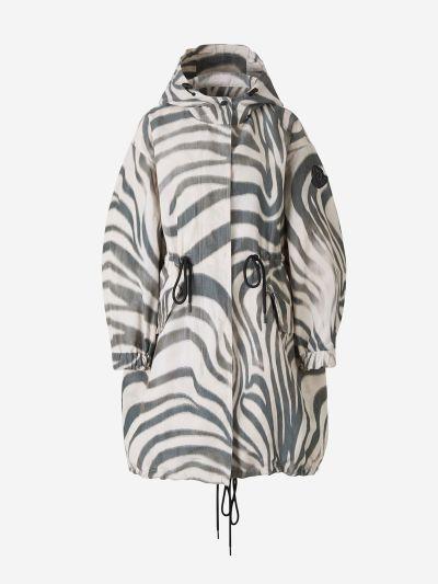 Parka Achird Estampat Zebra