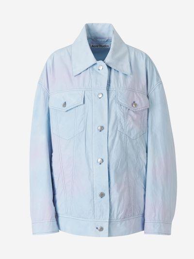 Subtle Tie Dye Cotton Jacket