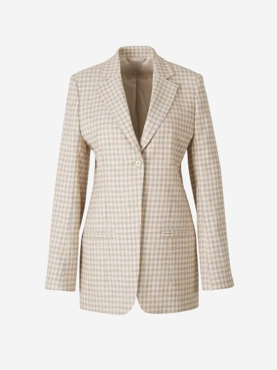 Blazer Diseño Tweed