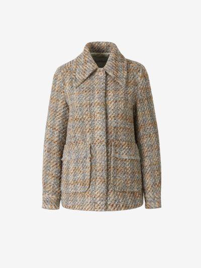 Abrigo Tweed Cuadros