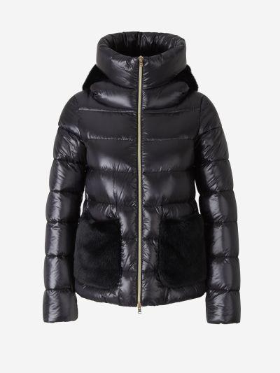 Hodded Padded Jacket