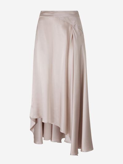 Asymmetrical Long Skirt