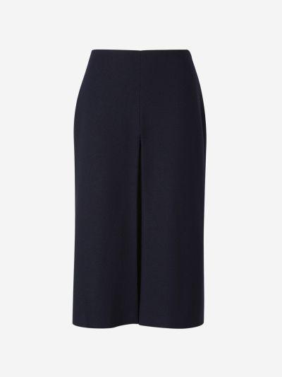 Overlapping Woven Skirt