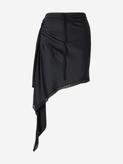 Ruched Lingerie Skirt