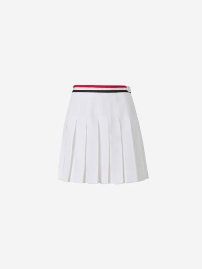 Combined Pleated Skirt