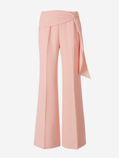Crepe Sherbrooke trousers