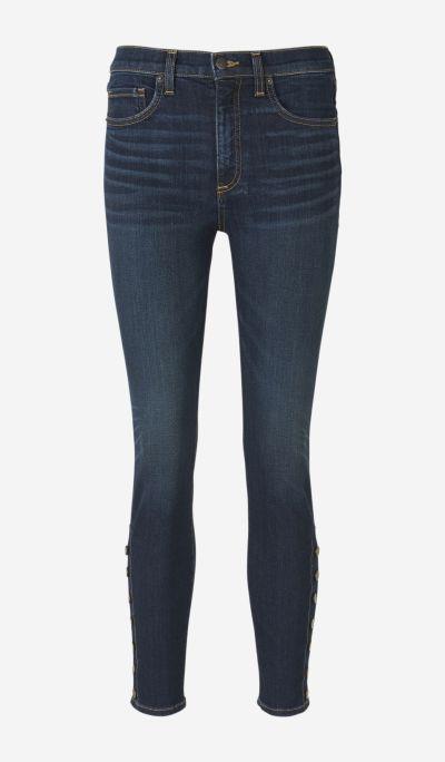 Pantalones Skinny Botones