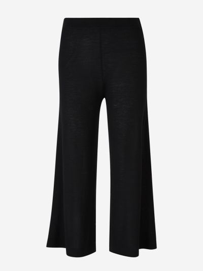 Knitted Culotte Pants
