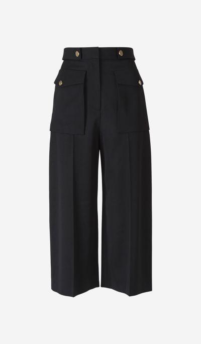 Pantalones Culotte Lana