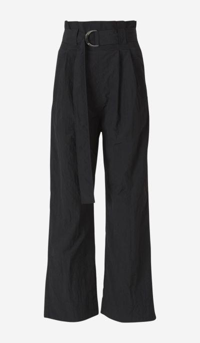 Pantalones Cintura Paper Bag