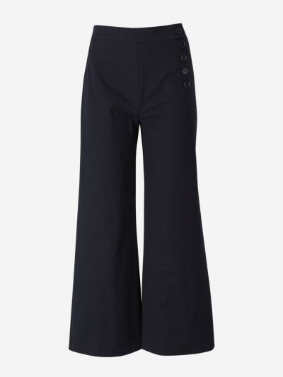 Cotton Culottes with buttons