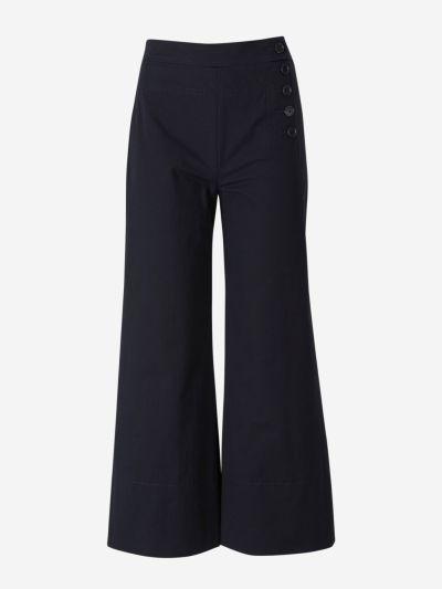 Pantalones Culotte Botones