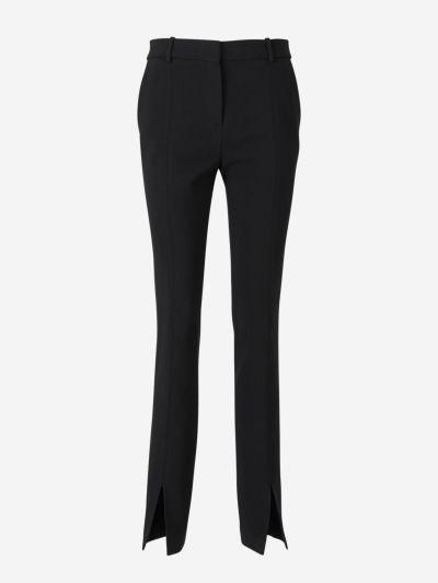 Elastic Twill Trousers