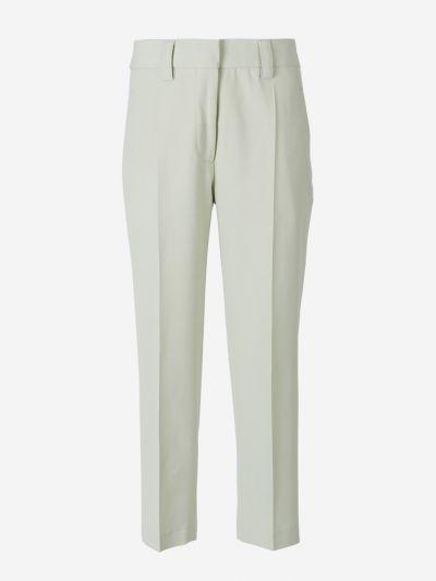 Pantalones Mezcla Lana