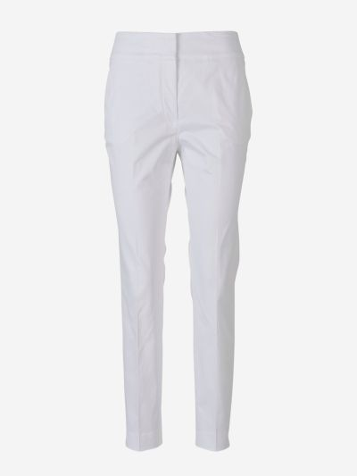 Pantalones Slim Algodón